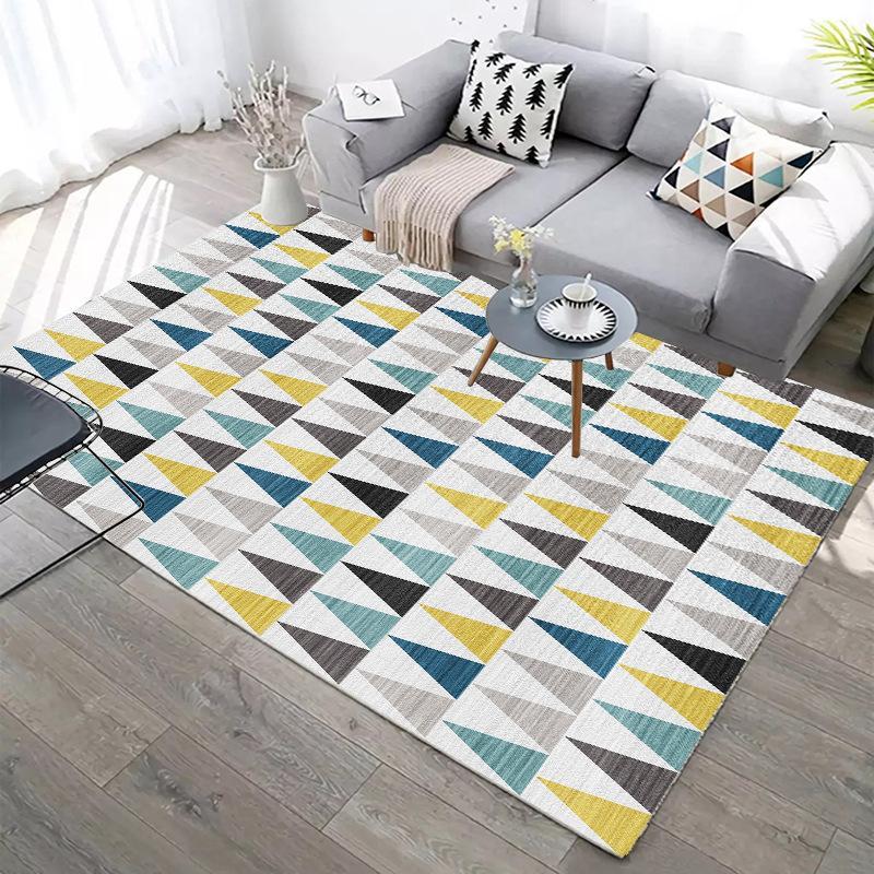 Camera molli spessi tappeti bambini Divano Tavolino Tappetino geometrici moderni tappeti per Living Room Decor Tappeti Per Camera