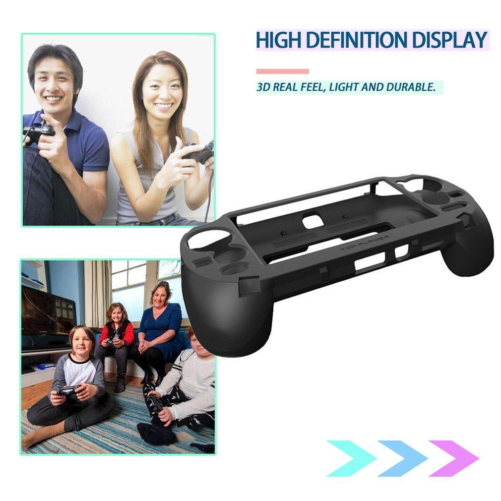 Grip Gamepad mano Holder joystick Custodia protettiva controller di gioco con L2 R2 trigger per Sony PlayStation Vita 1000 PSV1000