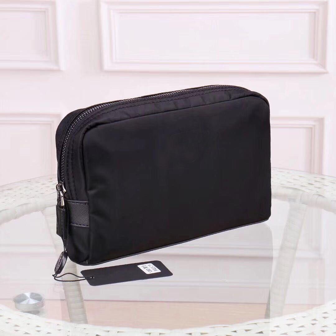Wholesale canvas makeup bag cosmetic bag for women Clutch for men big travel organizer storage wash bag make up women purse Cosmetic case