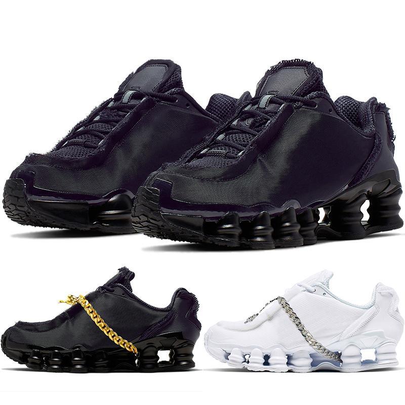 Nuovo di alta qualità Vieni Running Shoes De 97s Garcons degli uomini delle donne Bianco Nero Sneakers Giappone Gioca Formatori CJ0546-100 CJ0546-001