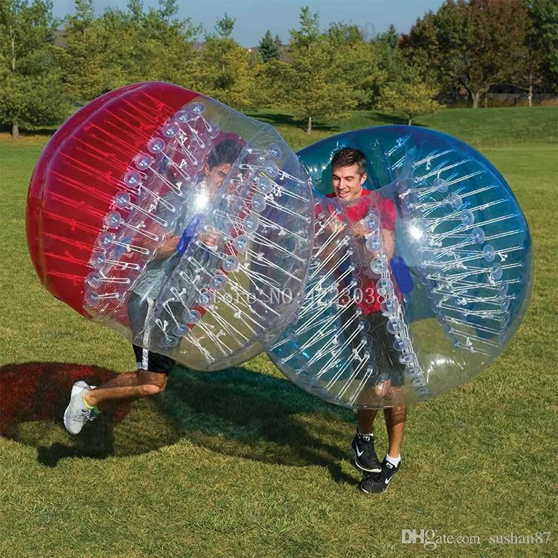 Free Shipping Inflatable Bumper Balls 5FT Bubble Soccer Ball 0.8mm Eco-Friendly PVC Zorb Ball Human Hamster Ball for Adults and Kids