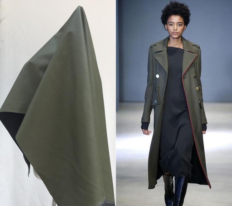 Bright Green metallic PU leather fabric dress coat patent mirror dance waterproof diy textiles elastic tissu cloth fabric C935