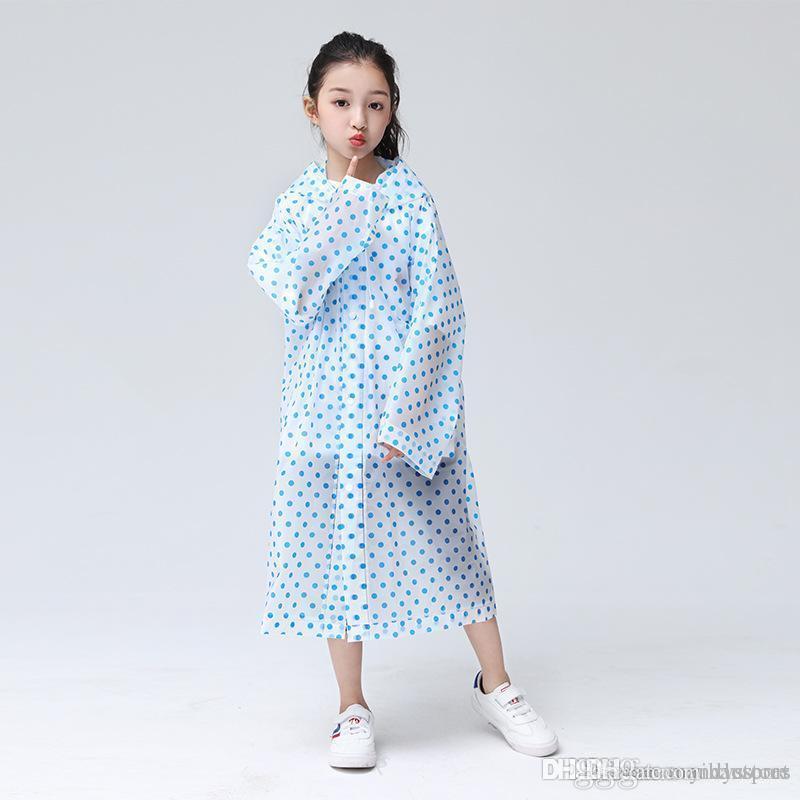 방수 비옷 어린이 방풍 외투의 일종 소년 소녀 비옷 야외 귀여운 작은 공룡 폴리 에스테르 아기 레인 코트
