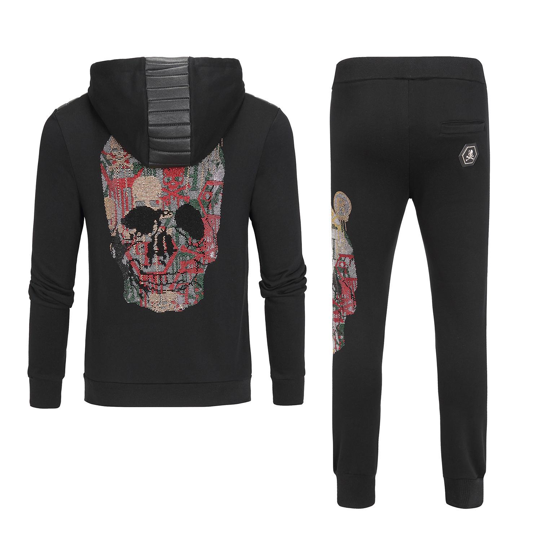 2020 Mode Hommes Designer Survêtements survêtements de luxe New Costumes Hommes Survêtement Jogger Veste + Pantalon Ensembles sport Costume Plus Size M-3XL