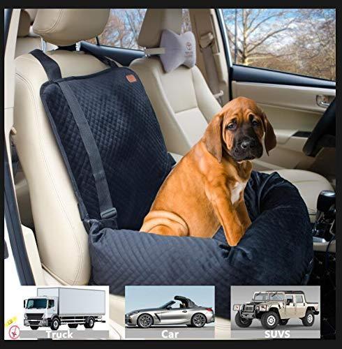 كلب مقعد السيارة مقعد ارتفاع كلب مقعد الداعم السيارة، ومناسبة للكلاب الصغيرة والمتوسطة الحجم أو القطط وزنها 40 جنيه