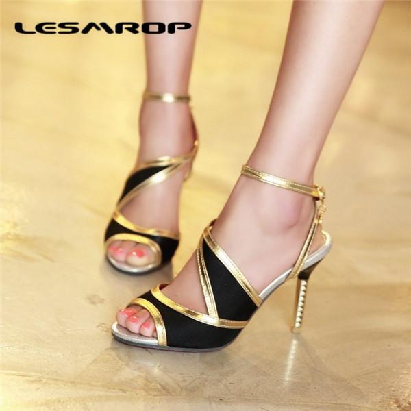 Büyük Boy 35-43 44-48 Yepyeni kadın Ayakkabı Stiletto Yüksek Topuklu Ayakkabılar Basit Vahşi Süper Boyutu Kodu Özel Sandalet Pompalar # 4543