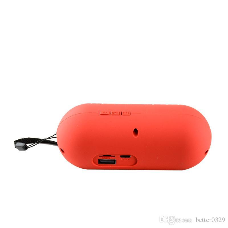 Capsule pill Y1 wireless bluetooth speaker mini plug-in card portable magic sound small audio column speaker