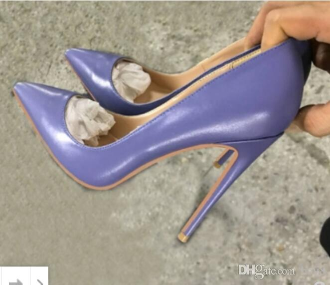 new Free Shipping Stiletto heel 8cm 10cm 12cm Women High Heels Shoes Red Bottom Red Sole Pointed Toes Pumps Rubber Dress wedding plus size