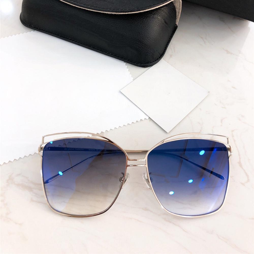 Luxury-2019 Nuevas gafas de sol de mujer Diseñador Retro Gafas de protección de alta calidad Protección UV Gradient Sunglasses Gafas con caja de venta