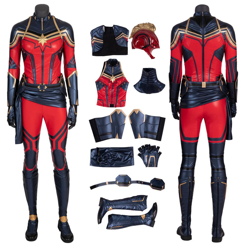 Captain Marvel Costume 2019 Avengers Endgame Cosplay Carol Danvers Red Woman Fashion Full Set Costumes For Groups Of 6 Halloween Themed Outfits From Realsis 234 51 Dhgate Com Captain marvel female superhero costumes marvel and marvel dresses. captain marvel costume 2019 avengers