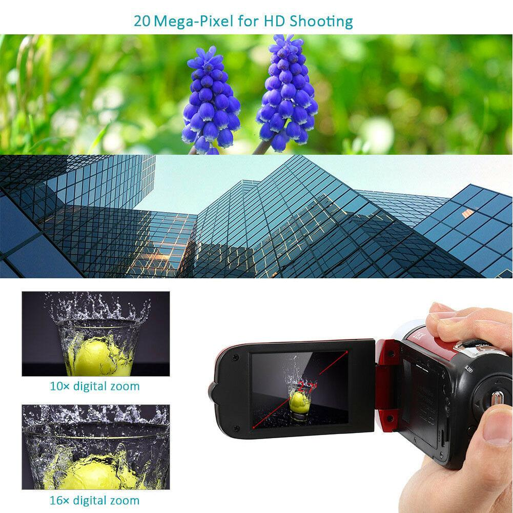 1080P Gifts Anti-shake LED Light Night Vision Digital Camera Clear High Definition Shooting Portable Video Record DVR