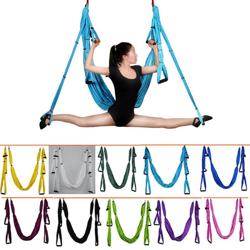 Anti-Gravity Yoga Hammock Fabric Yoga Flying Swing Aerial Traction Device Hammock Equipment For Pilates Body Shaping