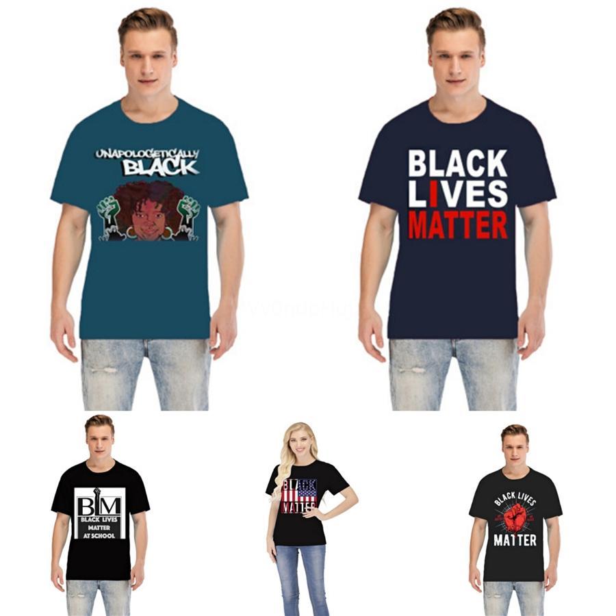! Negro Vidas Materia 20ss para hombre diseñador de la camiseta de Hip Hop para hombre de alta calidad camiseta de Verano Mujeres camiseta de los hombres camisetas de manga corta Tamaño S-XXL # 46913