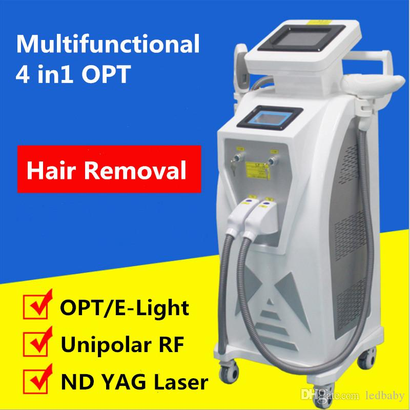 Lo nuevo E Light Depilación IPL Láser RF Rejuvenecimiento de la piel IPL Depilación OPT Depiladora de cabello OPT SHR IPL Máquina de belleza