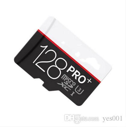 8G / 16GB / 32GB / 64GB / 128GB / 256GB PRO + carte micro carte SD Class10 / tablette PC TF C10 / caméra carte mémoire / SDXC téléphone intelligent 90Mo / S