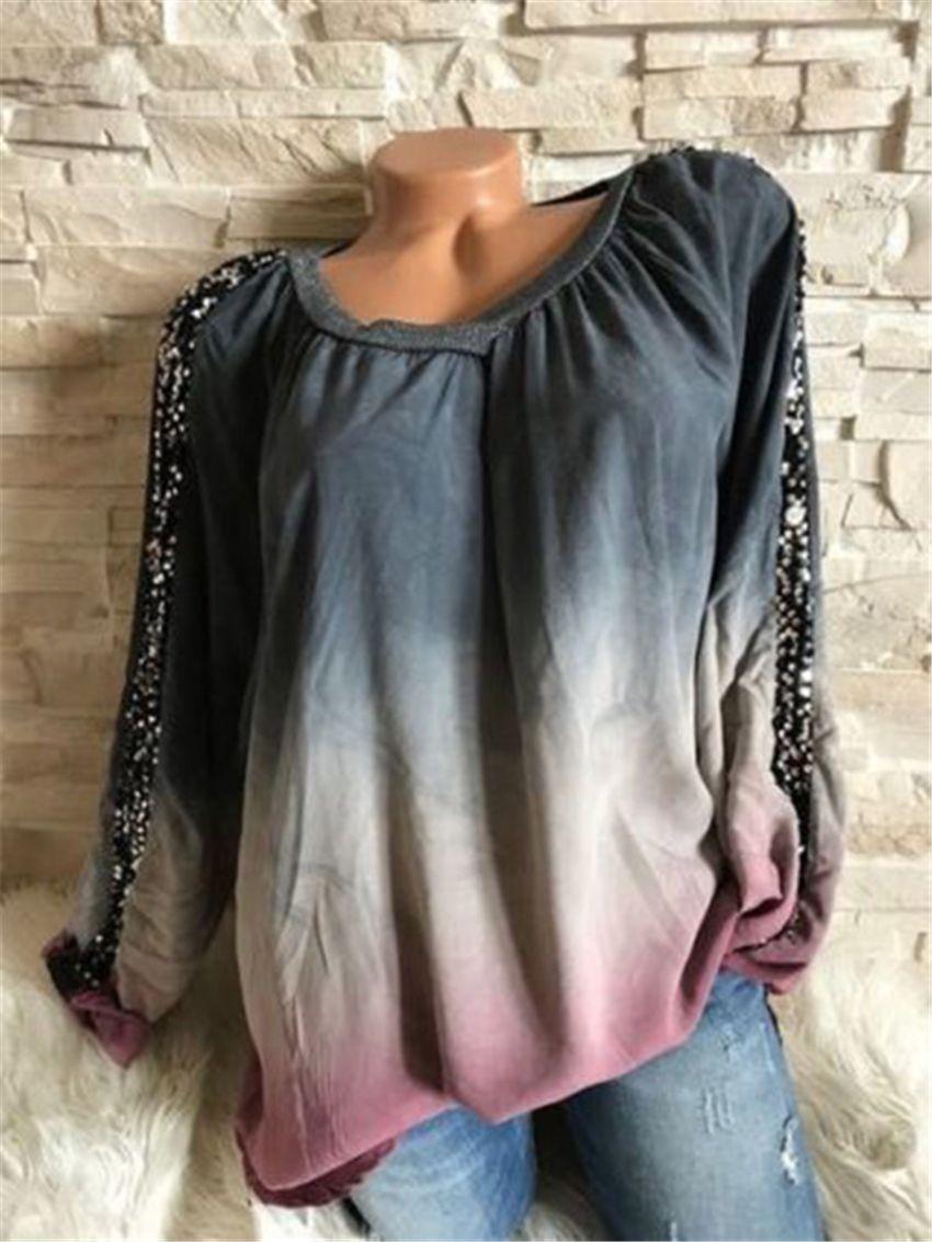 وصول العلامة التجارية بلوزة قميص جنسي زائد حجم ملابس رخيصة Blusas الأنثى الملابس الصيفية المرأة طباعة يتصدر البلوز البلوزات