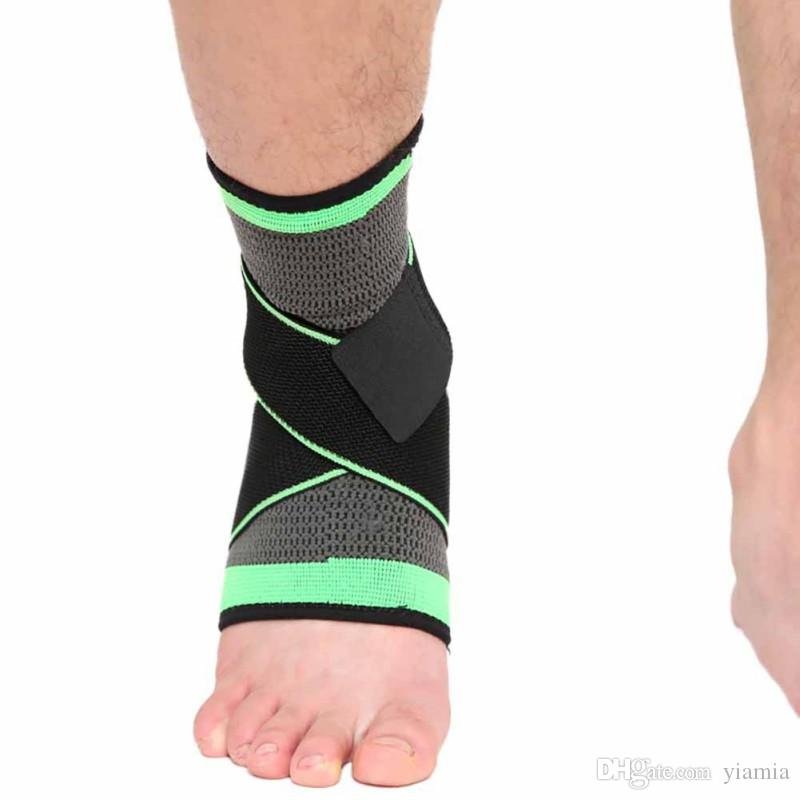 1 Pcs Ankle Support Running Cycle Basketball Football Taekwondo Anti Fatigue Fitness Sports Socks