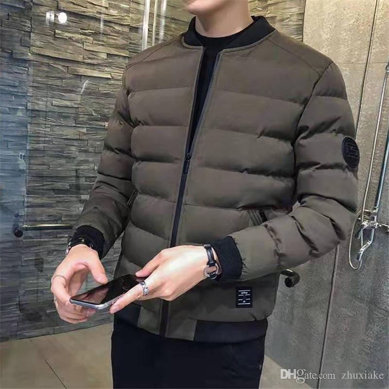 Designer Luxe manches longues hommes Parkas Homme fibre de polyester de haute qualité de Veste Parka d'hiver pour l'homme