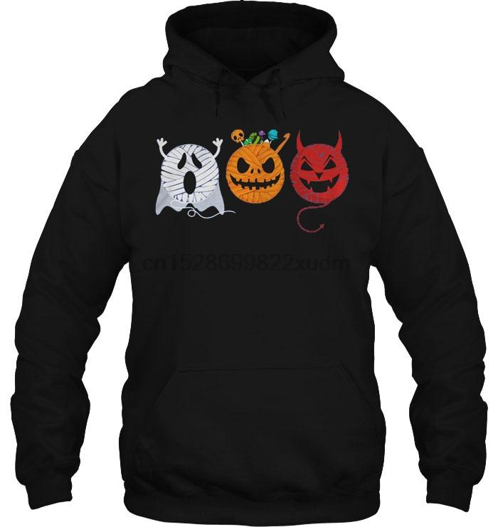 Gli uomini con cappuccio Halloween Filati Donne Streetwear