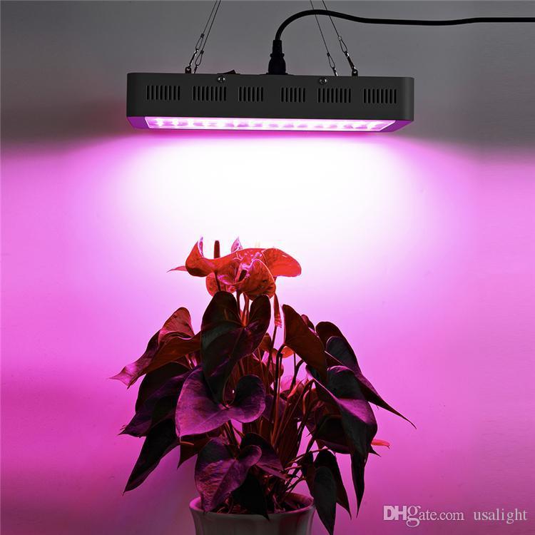 1500 W Yüksek Güç LED büyümek ışık ile 8 bantları tam spektrum 380-800nm büyüyen LED ışık renk oranı kapalı bitkiler için sebze ve çiçeklenme