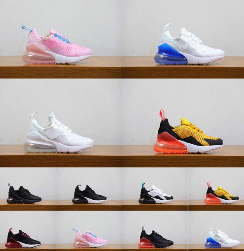 Mejores zapatos de diseño de calzado de calidad para niños, niños, jóvenes niñas zapatos Niños caliente Ponche Rosa Tigre Negro zapatillas de deportes al aire libre Niños Entrenadores