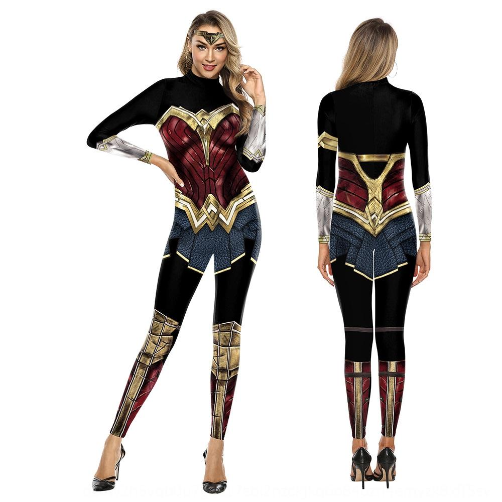 Wloxa Justice League Wonder Woman Cosplay Jumpsuit Jumpsuit Performance Stage And Wonder Clothing Justice League Cosplay Woman Costume Bjpd