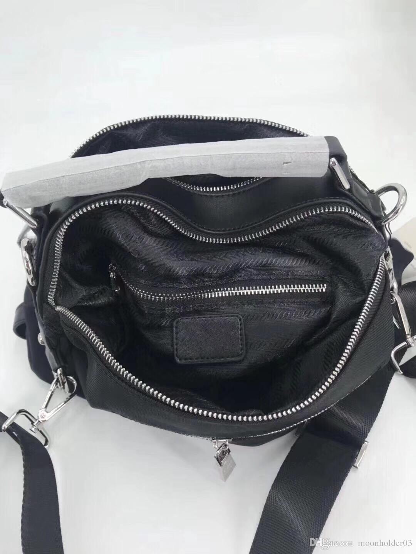 Bolsa nylon atacado saco clássico designer ombro bolsa selvagem boston fêmea impermeável bolsa de bolsa de recursos travesseiro messenger novo l ahlgv