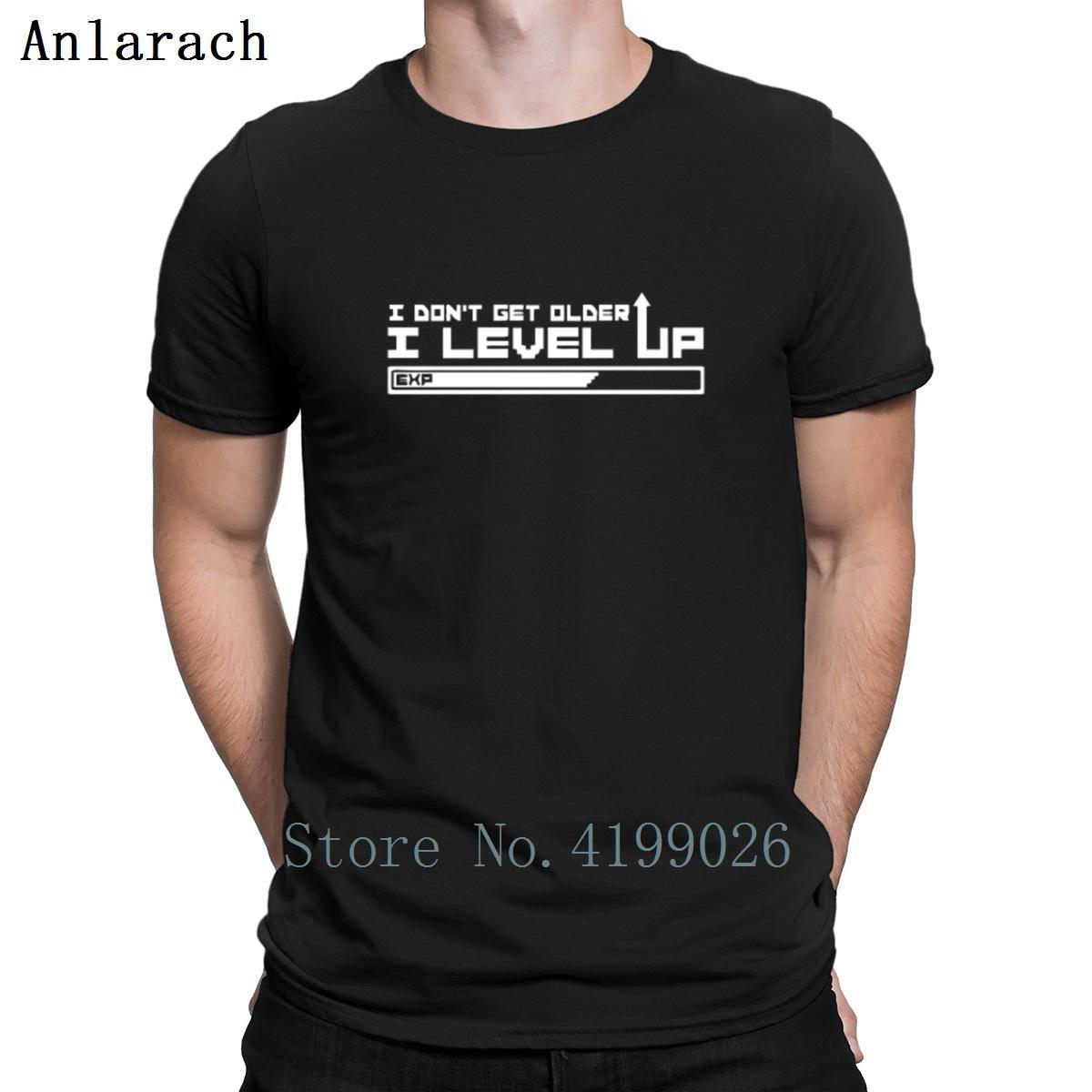 Non capisco più vecchio io Level Up T-shirt personalizzata O collo maschio maglietta classica per gli uomini di Hiphop Tops Lettere Umorismo Estate