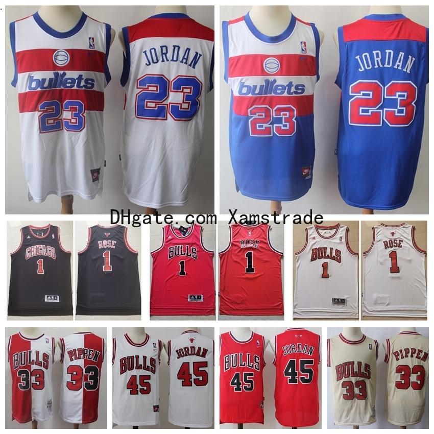 2020 Vintage Mens Chicago\u0026#13;Bulls 45