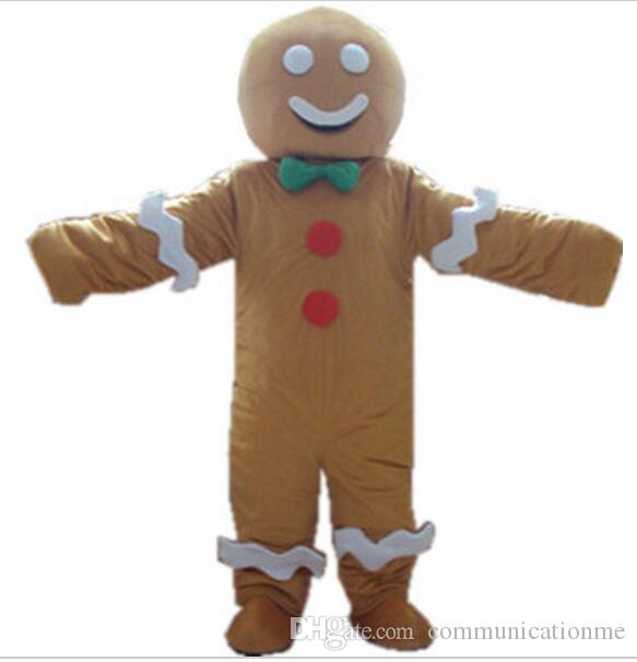 Brand New Gingerbread Man Christmas Holiday Infant Costume