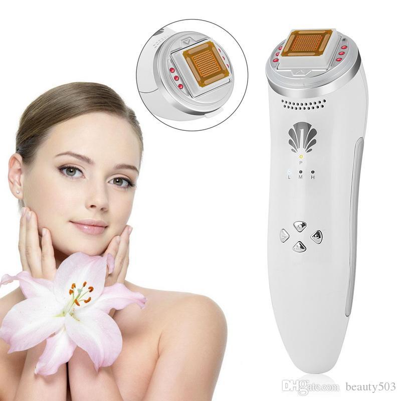 Radio Frequency RF Pele Lifting Facial aperto rugas Remoção Facial Corpo Físico Massagem Máquina recarregável