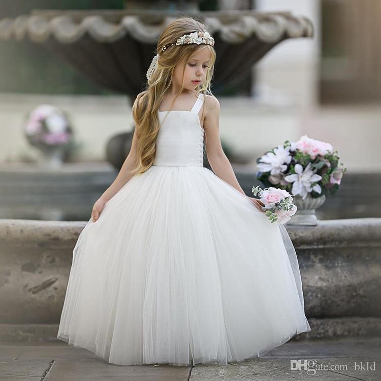 شبكة جديدة المرقعة الأميرة اللباس أطفال للبنات فساتين الصلبة للحصول على حفل زفاف رسمي الكرة بثوب الأطفال 2020 أكمام ملابس الصيف