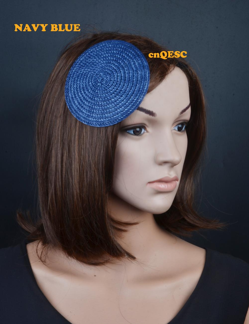 21 colours.11cm Round PP straw base Disc Fascinator for sinamay fascinator hair accessory church wedding derby