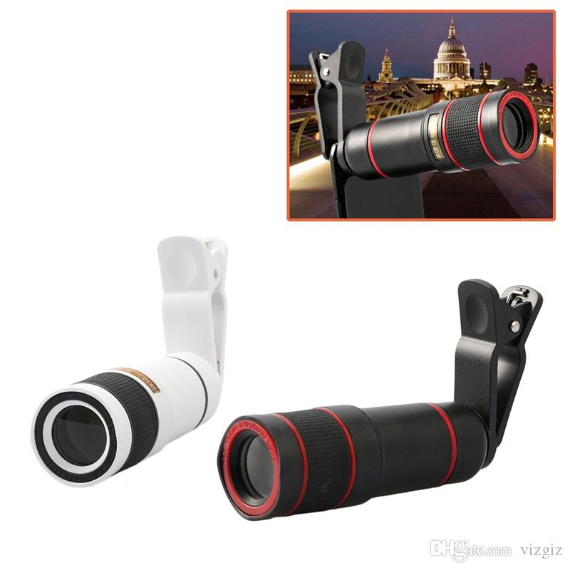 Mobile Phone Telephoto Lens 14X Zoom Phone Camera Telephoto Telescope Lens For iPhone Samsung Phone Portable