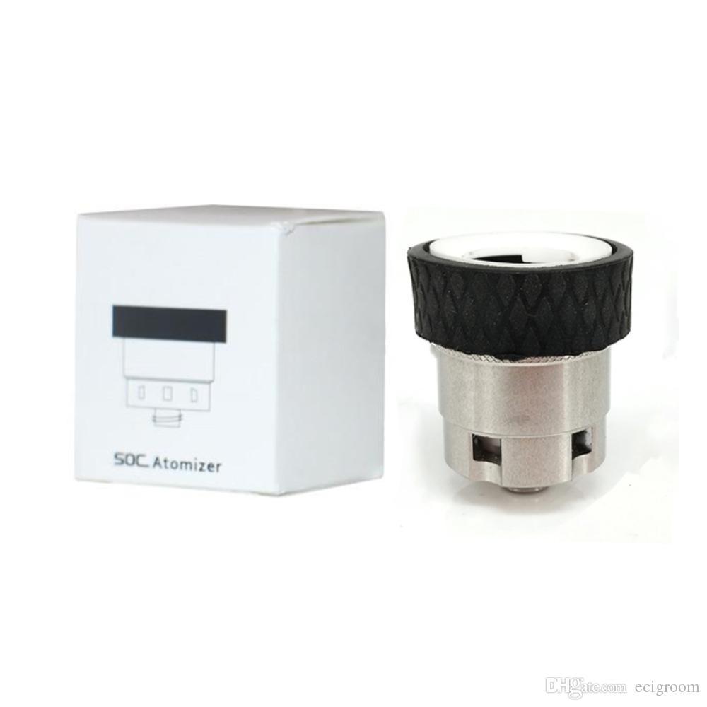 Concentrado SOC Enail Wax Shatter Budder Dabs Rig Kit Acessórios atomizador para soc enail kit VS Dabs Kit Rig acessórios de reposição