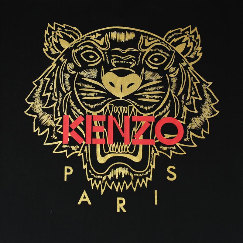 Hot Classic Tiger Capo Stampato Mens delle donne del progettista di marca T-shirt Pullover manica corta estate camicette Via Designer tee all'aperto 2032809H