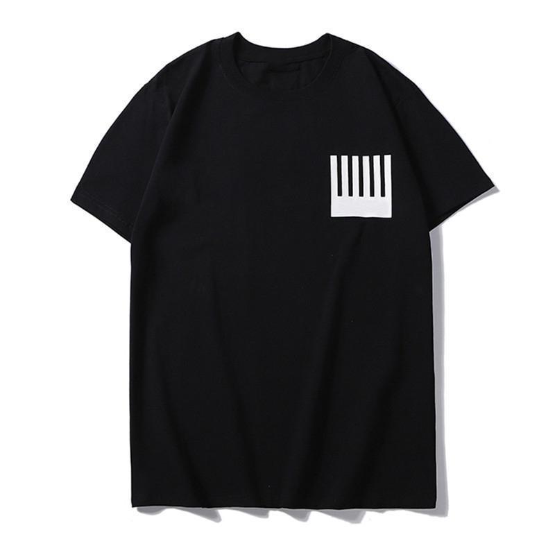 Ünlü Marka Erkekler Tasarımcı Tişörtlü New Men Yüksek Kalite Streetwear Kısa Kollu Lüks Erkek Tasarımcı Tees S-2XL