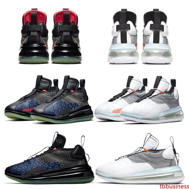 Saluto scarpe per gli uomini nuovo arrivel caldo Orbit Nero lupo grigio avanguardia funzione Sci Fi sportive sneakers preparatori atletici dimensioni 40-46 in esecuzione