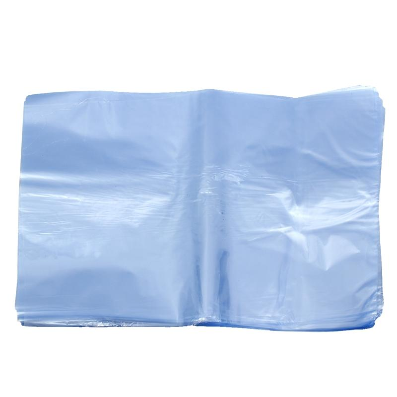 100Pcs PVC Heat Shrink Wrap Bags Flat Seal Gift Packing 8 inch x 12 inch
