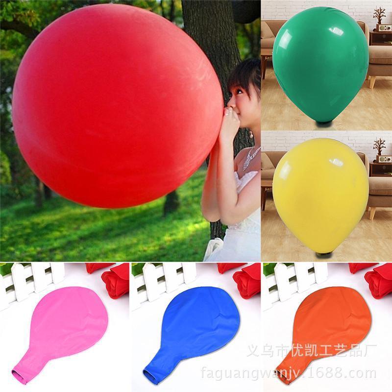 36 Zoll großen Ballon großen flachen Ball 25g / nur Hochzeitsfotografie Hochzeitsdekoration Partei Anordnung platzen Ballon