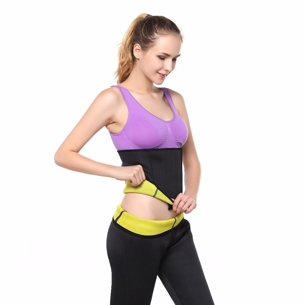 Shapers Waist-Trimmer Slimming Belt Women's Compression Adjustable Body Shaper Waist Belts Neoprene Slimming Corsets