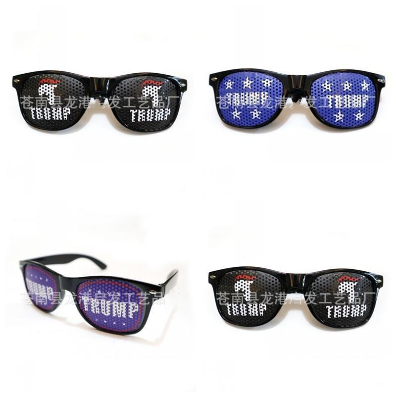 Simples Presidente dos EUA Donald Trump Óculos Moda Óculos De Plástico 2020 EUA Eleição Óculos Nova Chegada 4 5qf E1