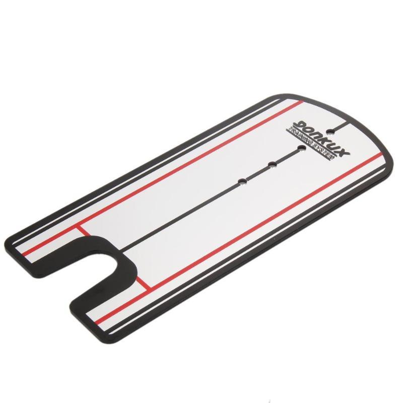 Training Aids Mirror Golf Putting Mirror Alignment Training Aid Swing Trainer Straight Practice Net Putting Mat Eye Line Golf Accessories