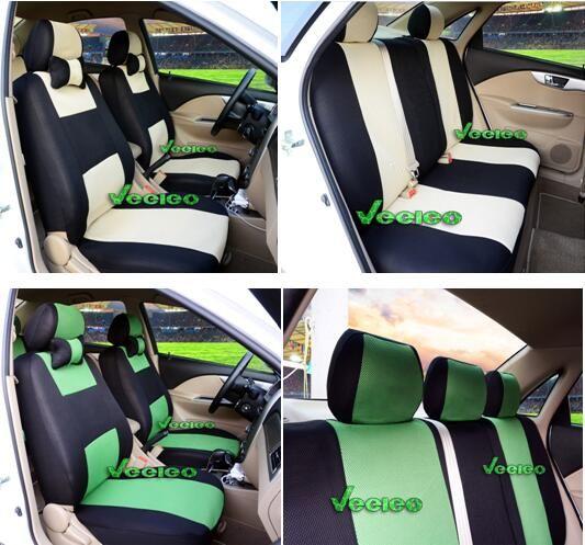 Universal-Sitzabdeckung für Golf Volkswagen Polo Jetta Bora Santana Vista Lavida mit atmungsaktivem Material + Logo + Wholesale + Free Verschiffen