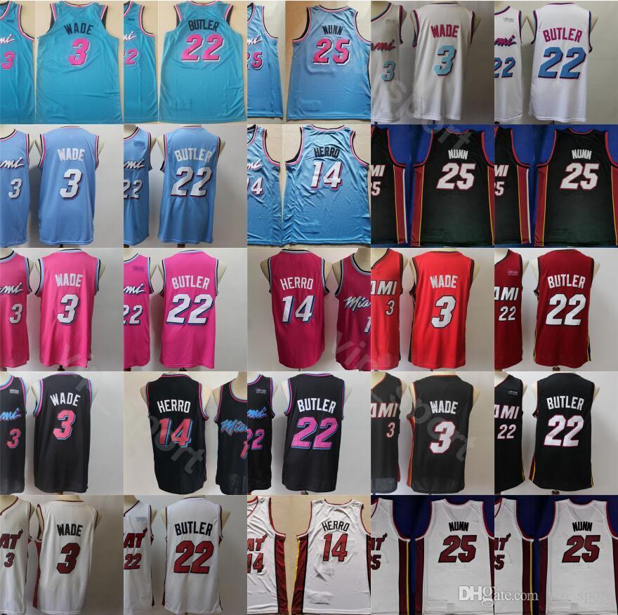 스포츠 2020 저지 화이트 레드 핑크 블루 블랙 스티치 자수 드롭 배송 도매 높은 품질 근로 저렴한 남성 3 14 22 25시