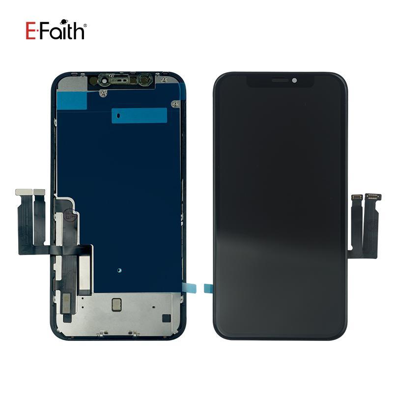 EFaith JK Incell Bon écran LCD de qualité pour iPhone XR remplacement de l'écran Pièces de rechange avec plaque en métal libre DHL Livraison