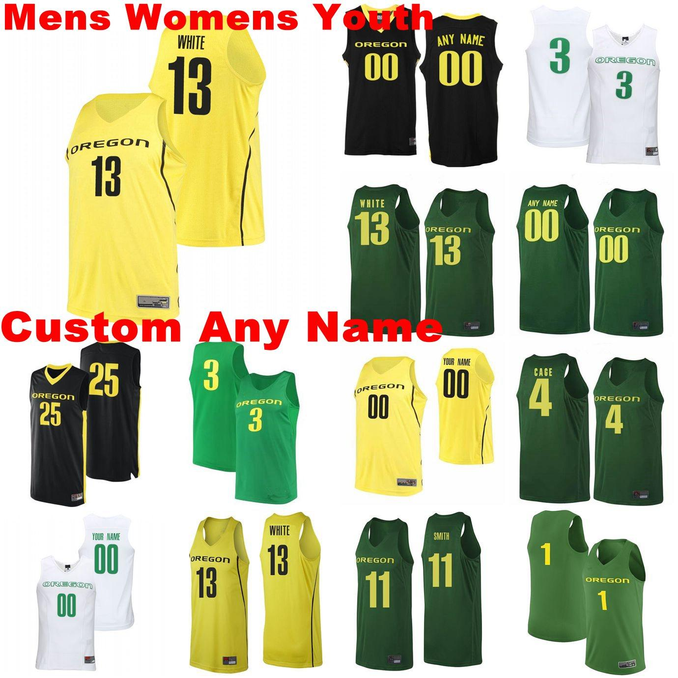 Oregon Ducks Jerseys Chandler Lawson Jersey Anthony Mathis Okoro Eugene Omoruyi Luke Osborn College Basketball Basketball Jerseys Mens personnalisé cousu