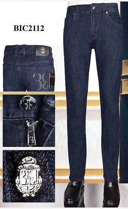 Billionaire Italian Couture Jeans Männer 2020 neue Art und Weise britische beiläufige