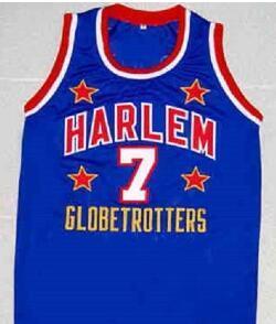 Personnalisé hommes jeunes femmes Vintage Vintage « TOO TALL » HALL GLOBETROTTERS basket Jersey HARLEM Taille S-4XL ou sur mesure tout nom ou le numéro jersey
