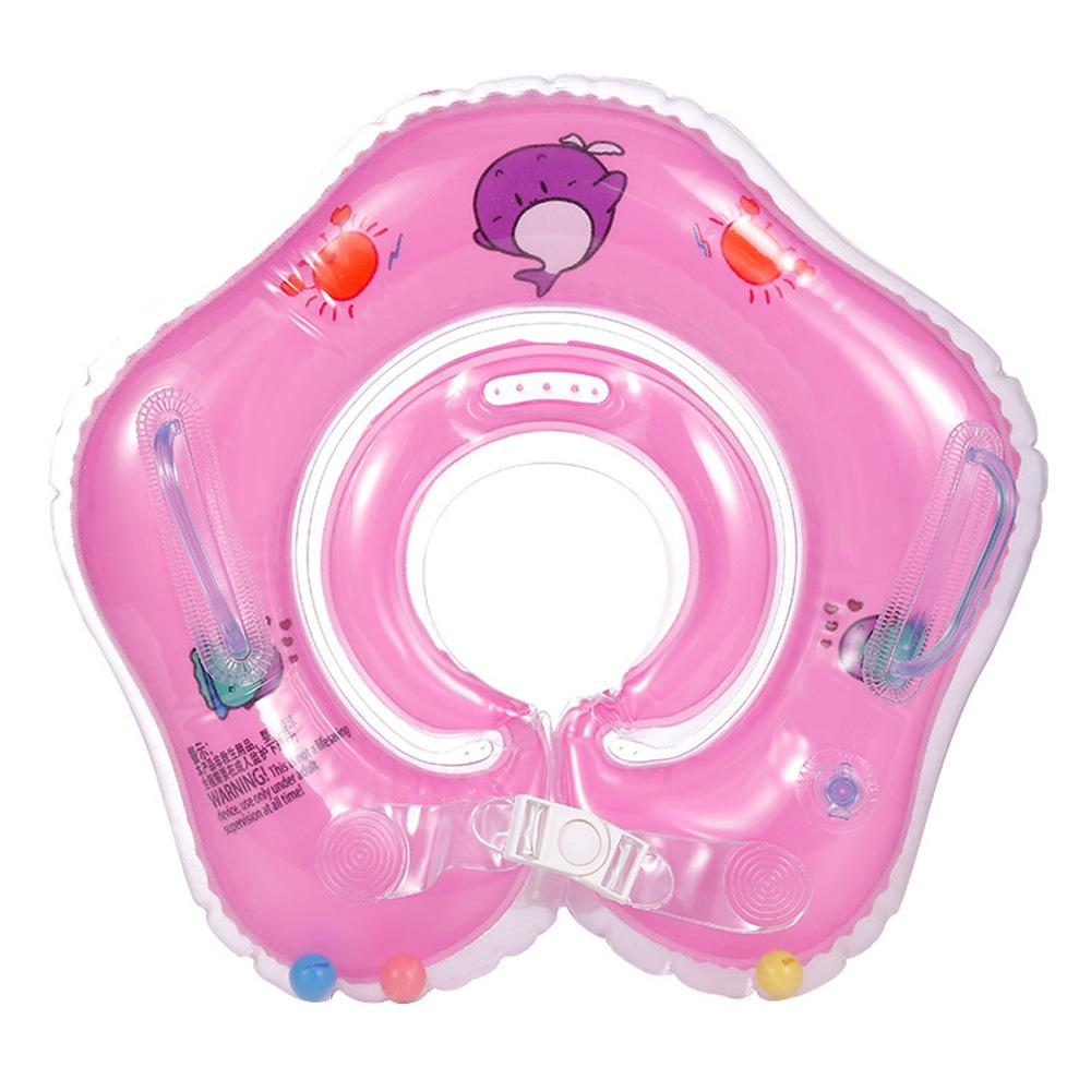 2020 Inflatable circle Swim Neck Ring infant Swimming accessories swim neck baby tube ring safety neck float circle bathing